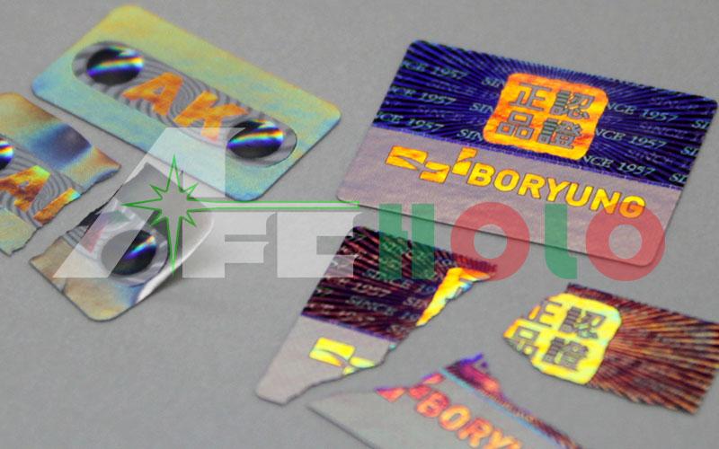 防伪标签-易碎纸
