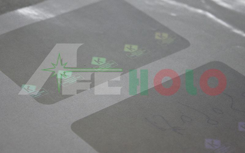 防伪标签-透明材料