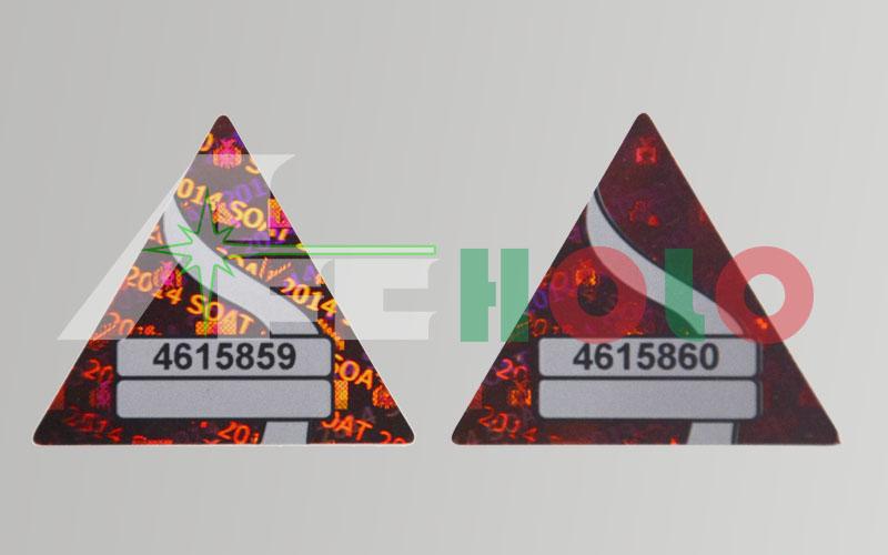 UV多色定位印刷标签
